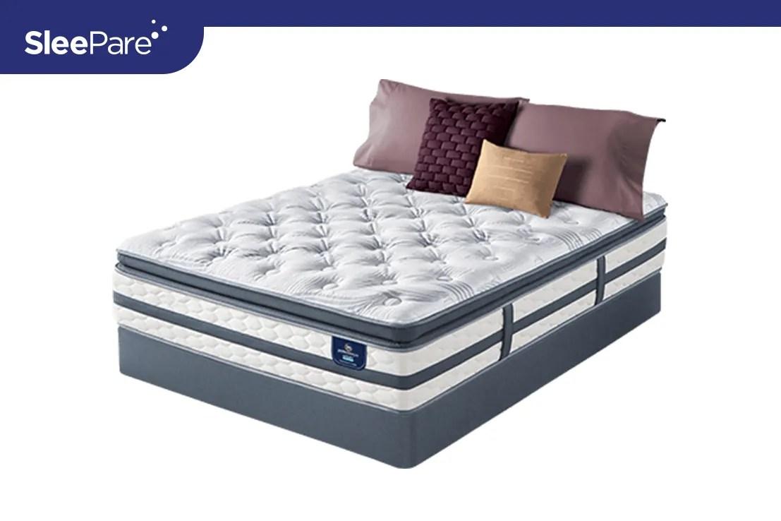 best serta perfect sleeper pillow top mattress reviews in new york sleepare