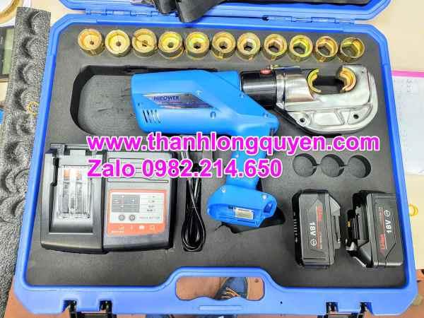kìm ép cos thủy lực dùng pin ez-400 hipower ngàm lớn 42mm tiết kiệm được nhiều thờn gian và sức lực