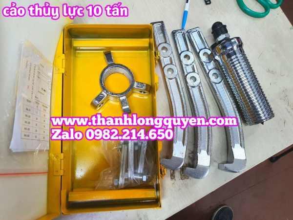 Cảo thủy lực bơm rời 10 tấn hhl-10f dùng bơm hhb-700 dài 250mm