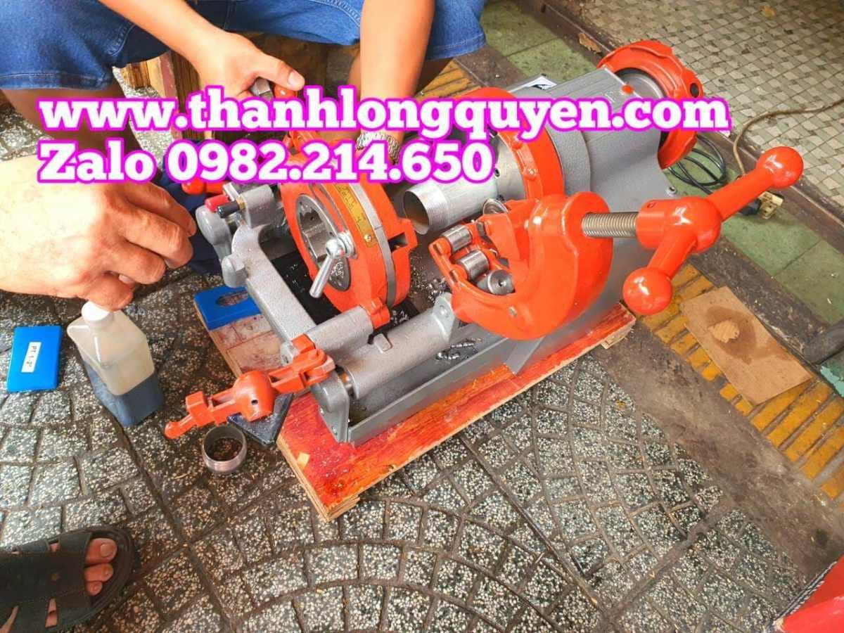 Máy tiện ren ống Long Shun z1t-r2 28rpm 750w