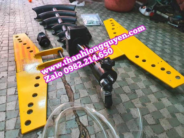 Máy uốn ống thủy lực điện hhw-2d 2 đường dầu 13 tấn