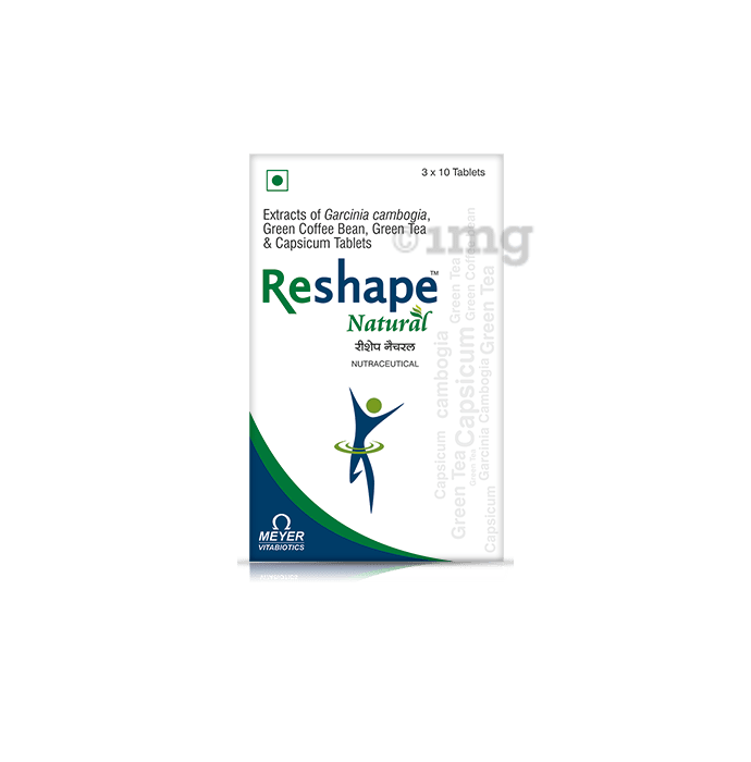 Reshape Natural Tablet: Buy strip of 10 tablets at best