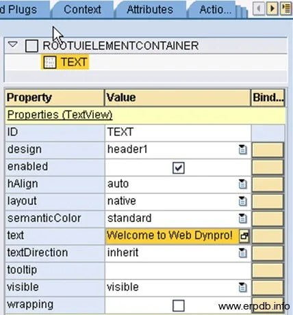 Creating Webdynpro App4