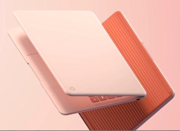 Google Pixelbook Go pink