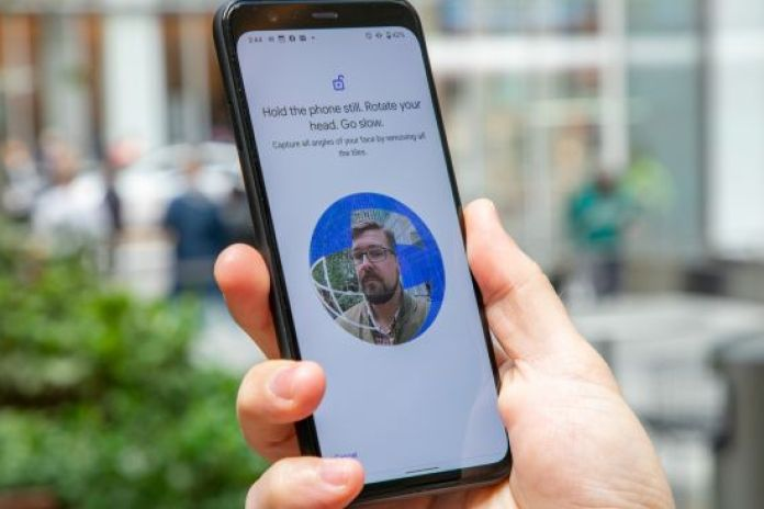 Google Pixel 5 fingerprint sensor