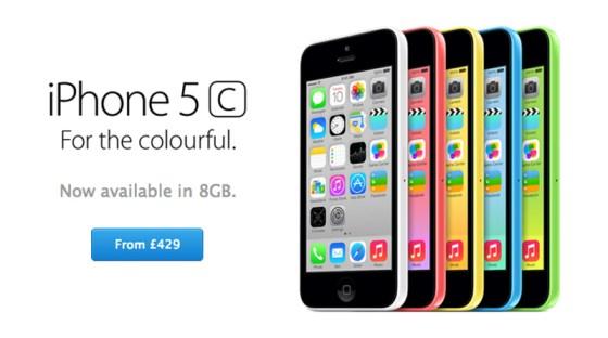 iphone 5c da 8g