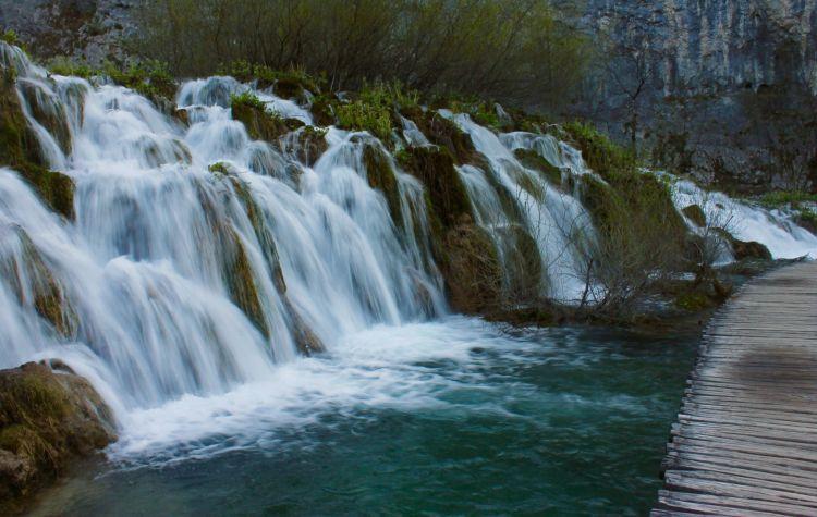 Waterfalls of Plitvice Lake National Park, Croatia