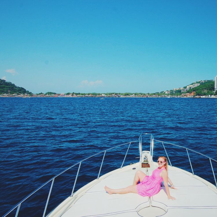Boating in Acapulco
