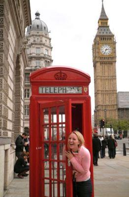 Big Ben and English phone booth!