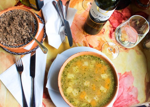 Slovenian food and wine