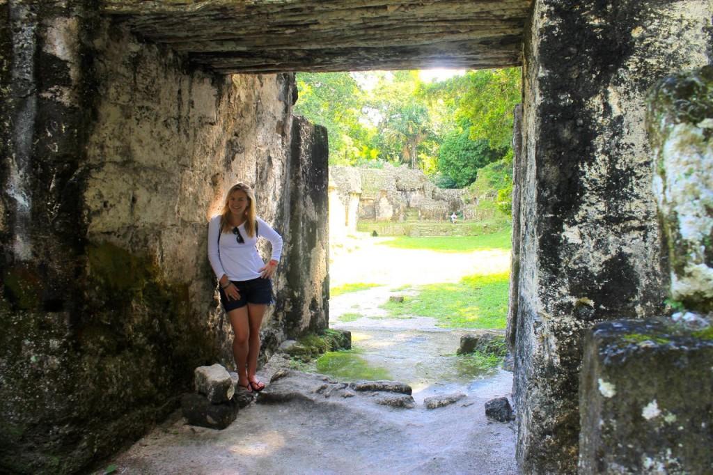 Exploring the ruins of Tikal in Guatemala