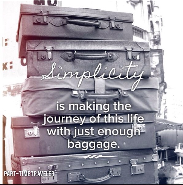 simplicity journey baggage