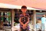 Young boy in Burma