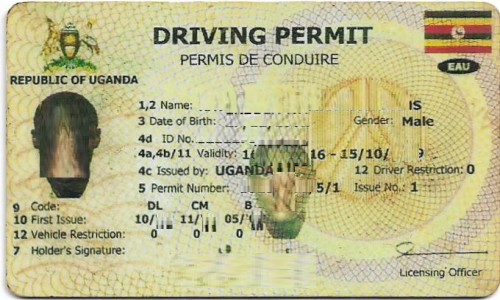 How to get a new driving permit in Uganda