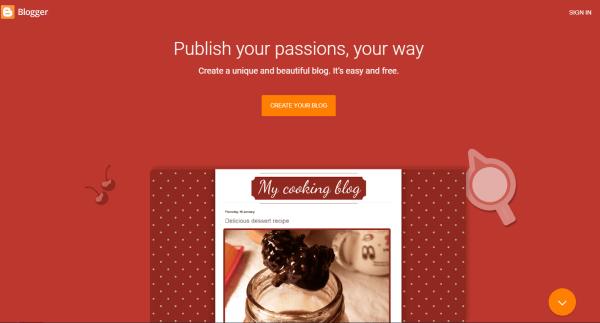 Blogger blogs