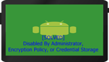 SOLVED] This Change Isn't Allowed By Your Administrator