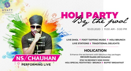 Holi Party By The Pool!