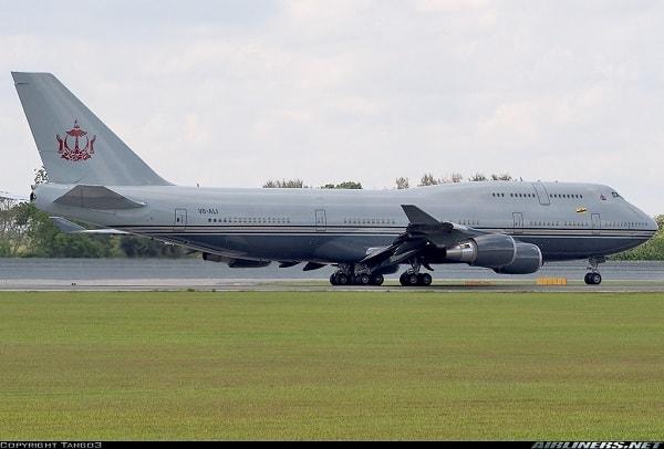 Boeing 747-430 – Sultan Brunei