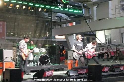 Mudhoney live at NXNE