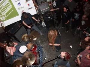 Coffinworm live at SXSW
