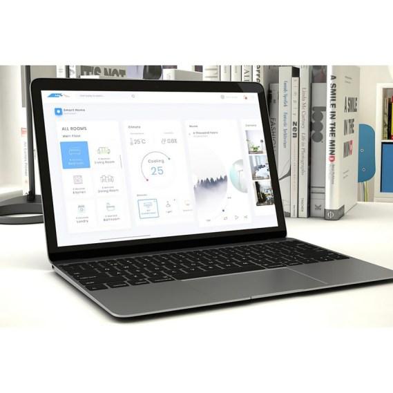 Smart Home Admin Dashboard Ui UI Elements