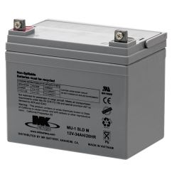 Wheel Chair Batteries Bed Furniture Village Es33 12 Mk Battery 12v 35 Ah Deep Cycle Sealed Mobility