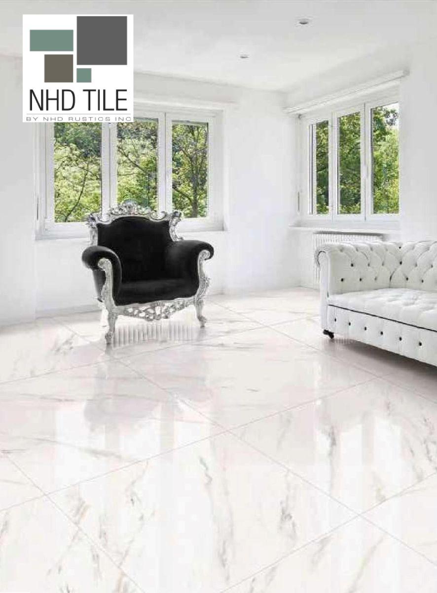 glazed polished porcelain tile 32x32