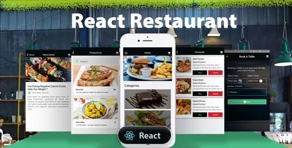 REACT NATIVE RESTAURANT MOBILE APP