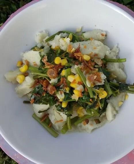 Tumis Kangkung Otak-Otak Salimah Food