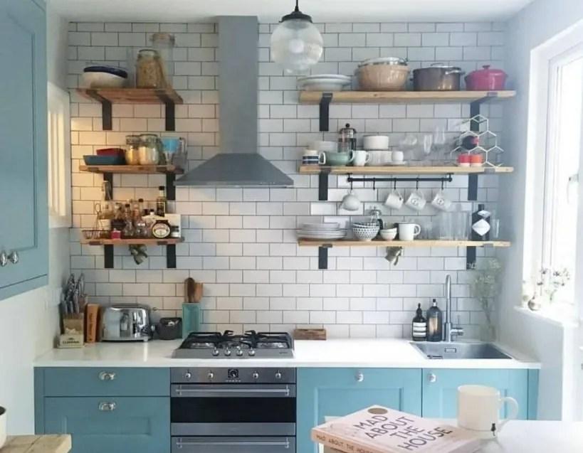 desain dapur minimalis furniture multifungsi