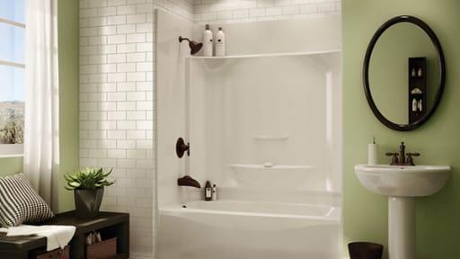 bathtubs showers acrylic vs fiberglass
