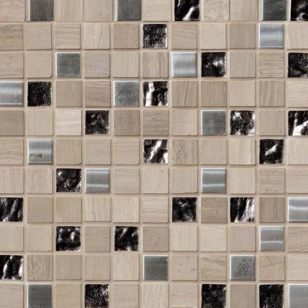 mosaic 12 x 12 castle rock glass stone