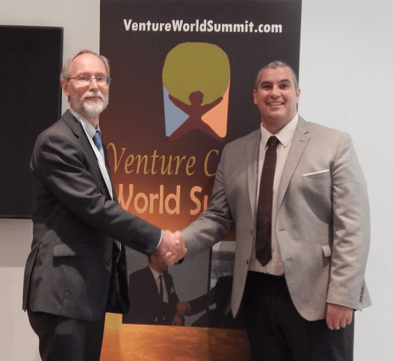 Venture Capital World Summit, Europe Enterprise Network Representative and Elio Assuncao