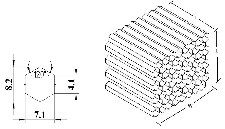 Structure of Honeycomb in CATIA v5 step-by-step