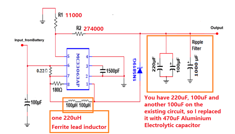 convert circuit diagram to breadboard ford telstar distributor wiring dc converter design eng tips hi i have recently built a supply voltage from 6v 32v the is as below