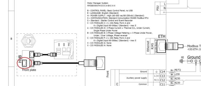 rs232 to rj45 cable pinout diagram for ied ge mm300