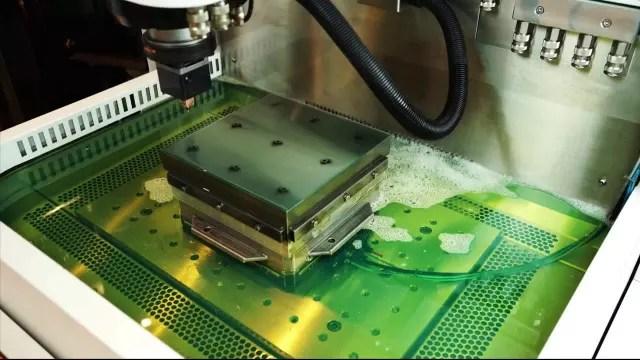 GF Machining Solutions AgieCharmilles L'EDM au zinc. (Image due aux systèmes de machine-outil.)