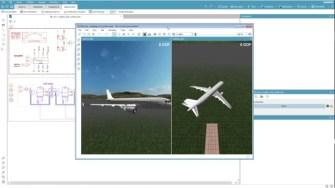 Simcenter Uçuş Dinamiği Simulasyonları Amesim 17