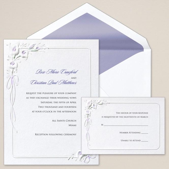 Fall Wedding Invitations For