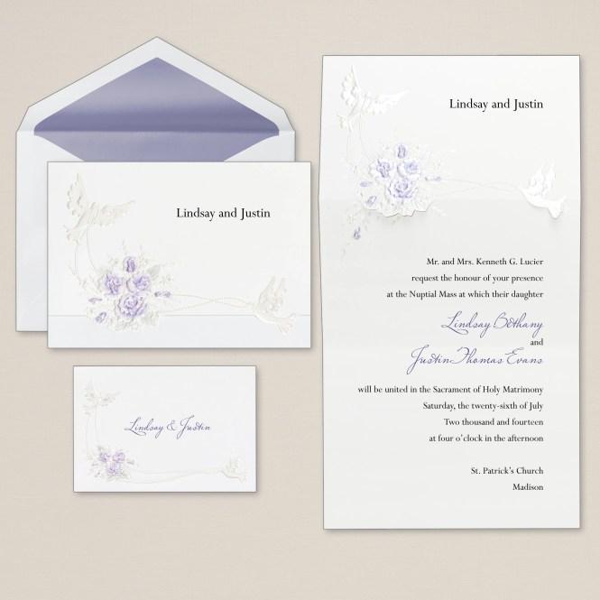 Check Out Arley Rose And Morgan S Wedding Invitations