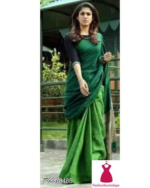 Pretty Linen Womens Saree