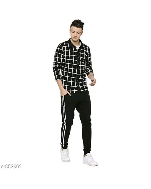 Men's Stylish Cotton Checkered Shirts Vol 1 (10)
