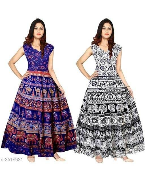Jasleen-Stunning-Cotton-Dresses2