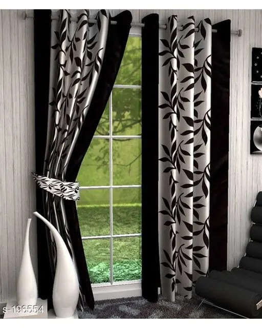 Printed Polyester Door Curtains Vol 2-2