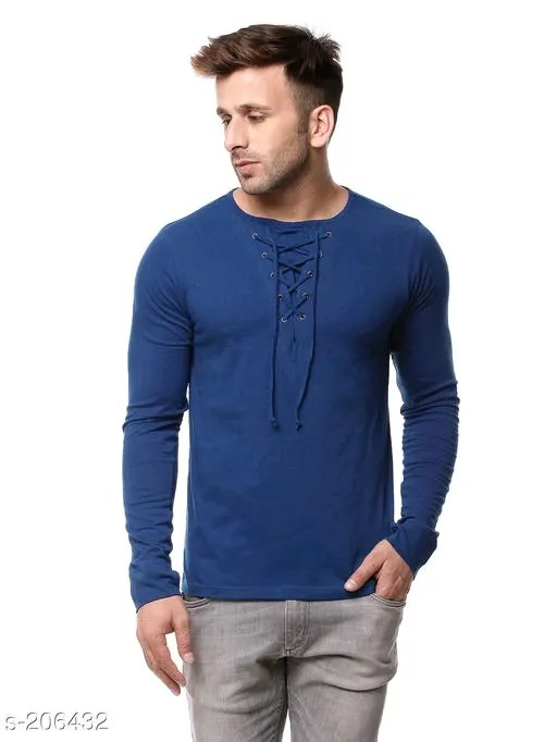 Trendy Cotton Men's Tshirt