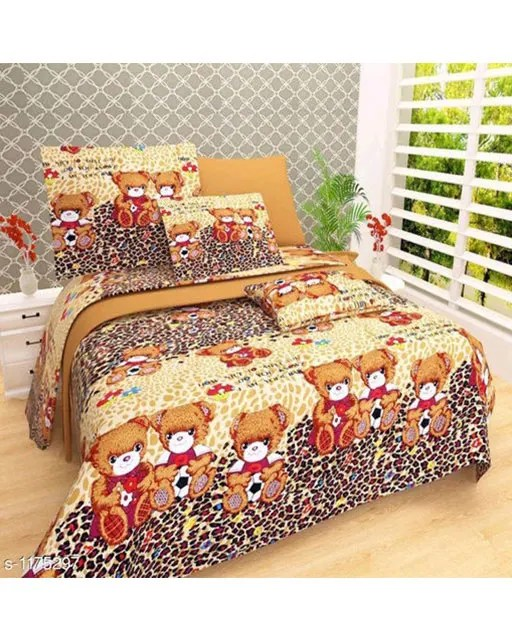 Splendor Exotic Poly Cotton Double Bedsheets Vol 3 (2)