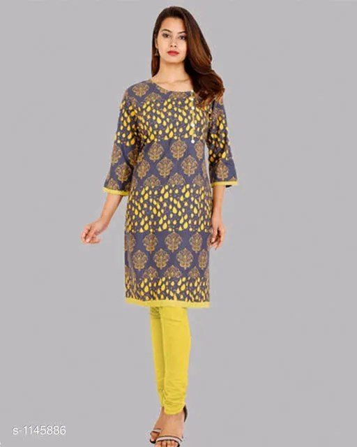 Attractive Rayon Women's Kurtis Vol 12