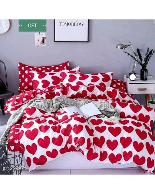 Blissful Comfort Cotton Printed Double Bedsheets Vol 16