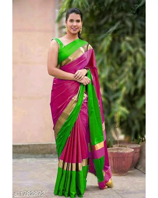 Mishti Partywear Cotton Silk Sarees web Vol 3 (9)