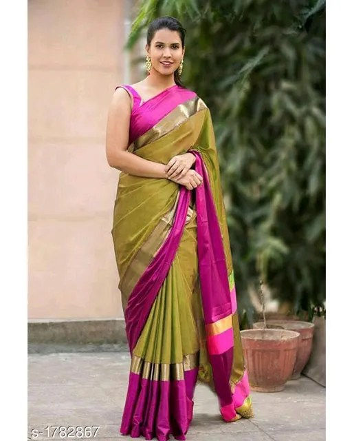 Mishti Partywear Cotton Silk Sarees web Vol 3 (6)